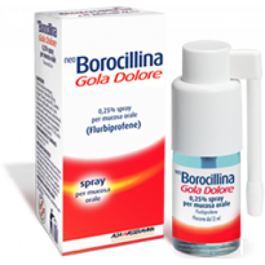 ALFA WASSERMANN SpA - NEOBOROCILLINA GOLA DOL*SPRAY