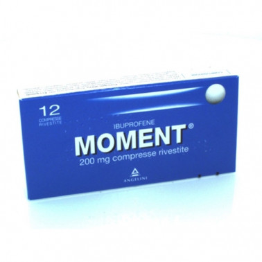 ANGELINI SpA - MOMENT*12CPR RIV 200MG