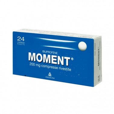 ANGELINI SpA - MOMENT*24CPR RIV 200MG