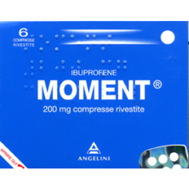 ANGELINI SpA - MOMENT*6CPR RIV 200MG