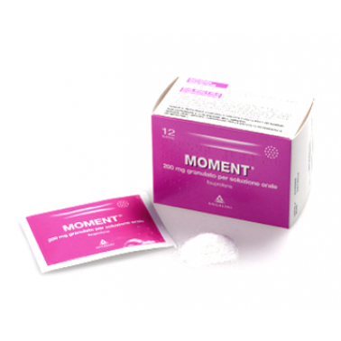 ANGELINI SpA - MOMENT*GRAT 12BUST 200MG