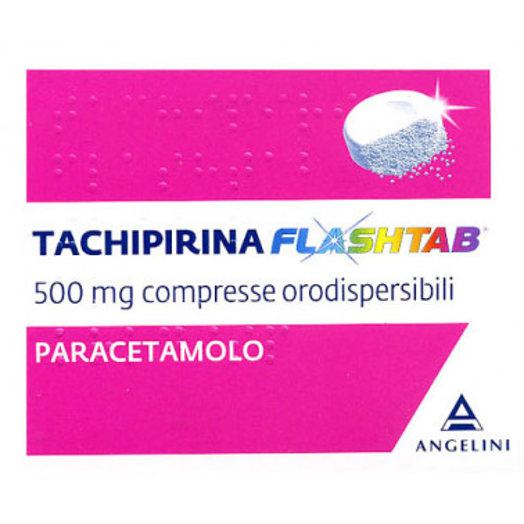 ANGELINI SpA - TACHIPIRINA FLASHTAB*16CPR 500