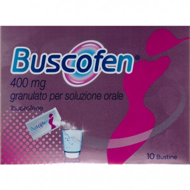 BOEHRINGER INGELHEIM IT.SpA - BUSCOFEN*GRAT 10BUST 400MG