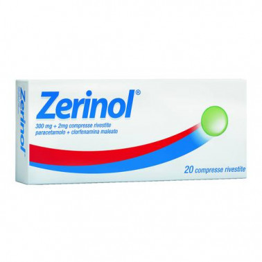 BOEHRINGER INGELHEIM IT.SpA - ZERINOL*20CPR RIV 300MG+2MG