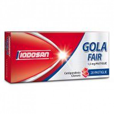 IODOSAN SpA - GOLAFAIR*20PAST 1.5MG