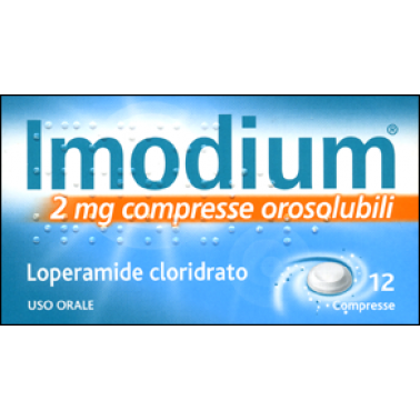 JOHNSON & JOHNSON SpA - IMODIUM*12CPR OROSOL 2MG
