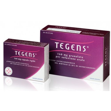 SANOFI SpA - TEGENS*20CPS 160MG