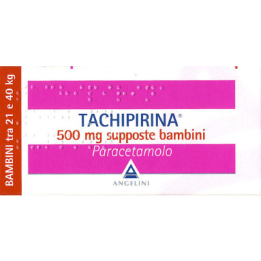 ANGELINI SpA - TACHIPIRINA*BB 10SUPP 500MG