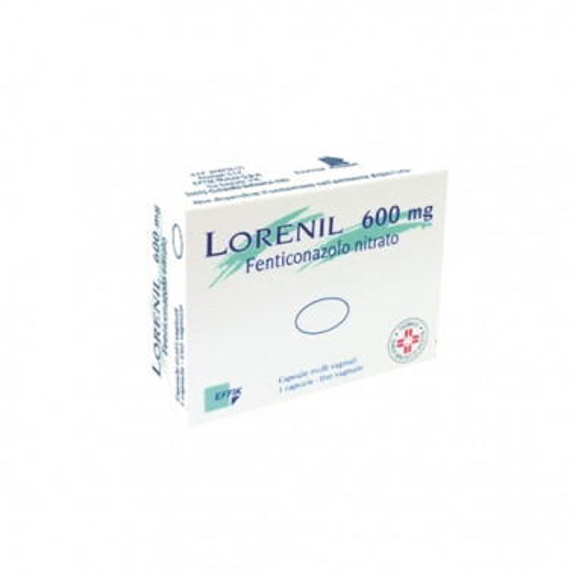EFFIK ITALIA SpA - LORENIL*1CPS MOLLI VAG 600MG