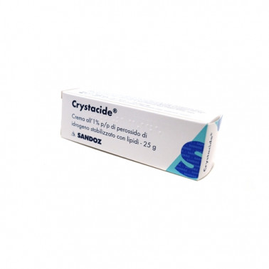GIULIANI SpA - CRYSTACIDE*CREMA 25G 1%