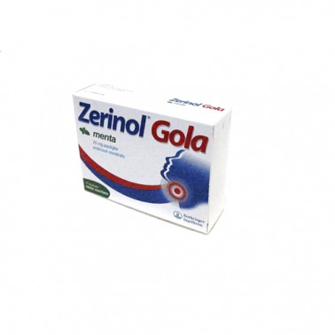 BOEHRINGER INGELHEIM IT.SpA - ZERINOL GOLA MENTA*18PAST 20MG