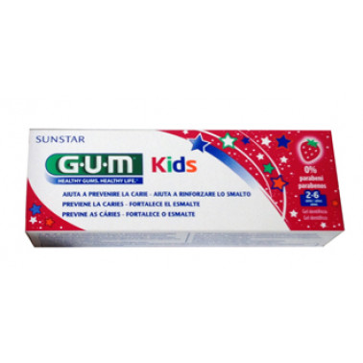 BUTLER/GUM - GUM Dentifricio Bambini 2/6 anni 50ml