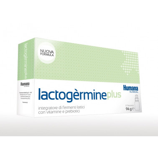 HUMANA ITALIA SpA - LACTOGERMINE PLUS FERMENTI LATTICI 10FL