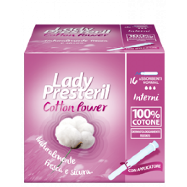 CORMAN SpA - LADY PRESTERIL Cotton Power 16pez