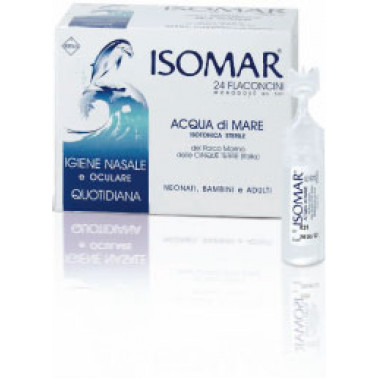 COSWELL SpA - ISOMAR Flaconcini Monodose 24pzx5ml