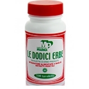 MEDICAL PHARMA Srl - LE DODICI ERBE 100tav