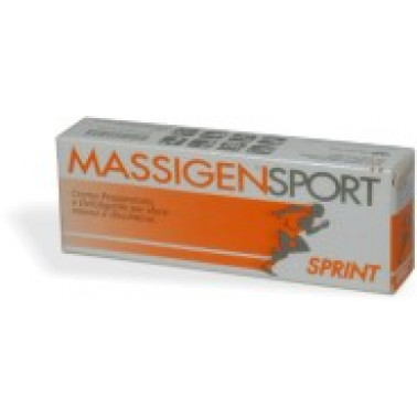 MARCO VITI FARMACEUTICI SpA - MASSIGEN Sport Sprint Cr 50ml