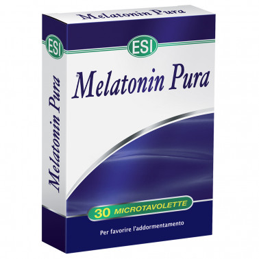 ESI SpA - MELATONIN PURA 1MG 30 MICROTAVOLETTE