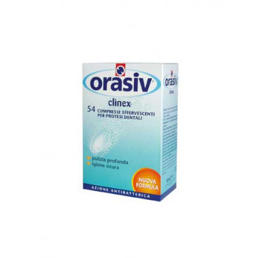 BOUTY SpA - ORASIV Clinex Compresse Effervescenti per Protesi 54pz