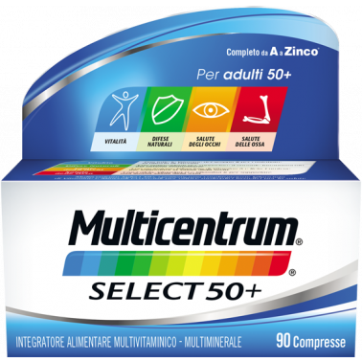 PFIZER ITALIA DIV.CONSUM.HEALT - MULTICENTRUM Select 50+ 90cpr
