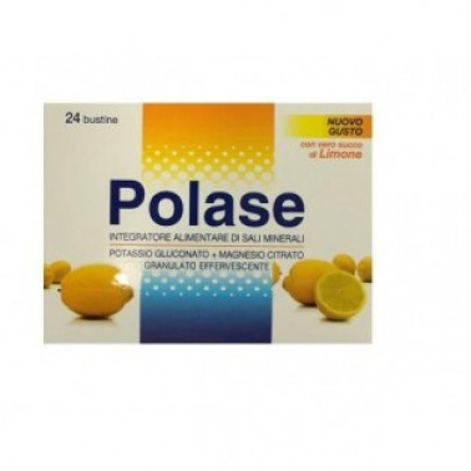 PFIZER ITALIA DIV.CONSUM.HEALT - POLASE Integratore Alimentare Limone 24 Bust 10gr