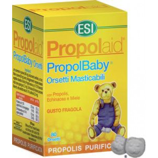 ESI SpA - PROPOLAID PropolBaby Orsetti Masticabili 80tav