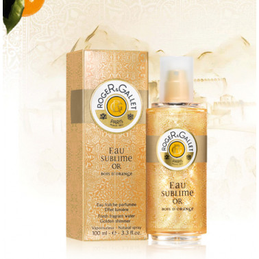 ROGER&GALLET (L'Oreal Italia) - ROGER&GALLET Bois d'Orange Eau Sublime Or 100ml