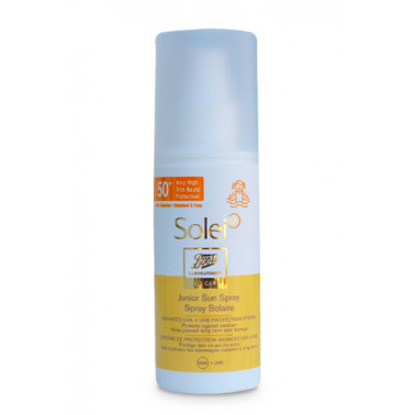 BOOTS SOLEI SP - SOLEI SP Spray Solare Bambini SPF50+ 150ml