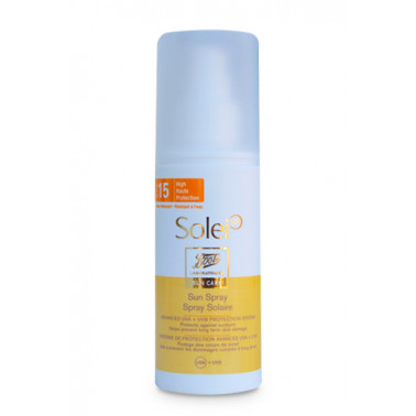 BOOTS SOLEI SP - SOLEI SP Spray Solare SPF15 150ml