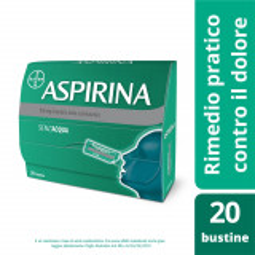 ASPIRINA 500MG ANTINFIAMMATORIO 20 BUSTE