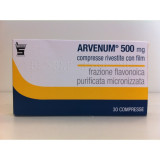 ARVENUM 500*30CPR RIV 500MG