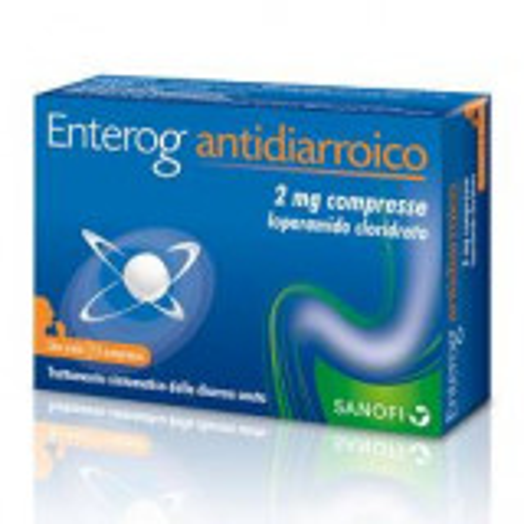 ENTEROGERMINA ANTIDIARROICO 12 COMPRESSE