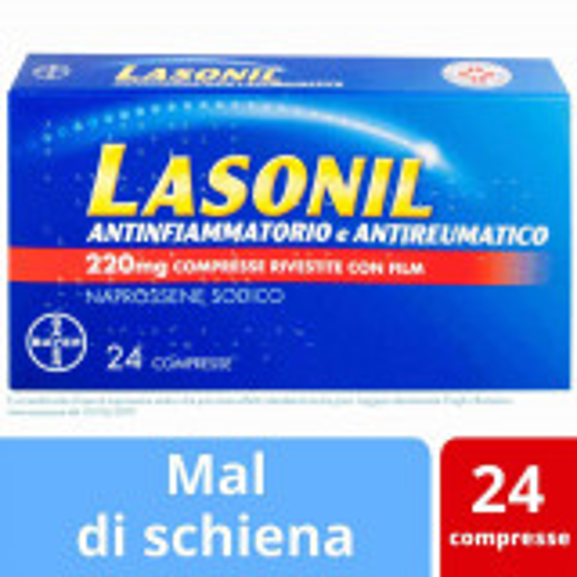 LASONIL ANTINFIAMMATORIO 24 COMPRESSE