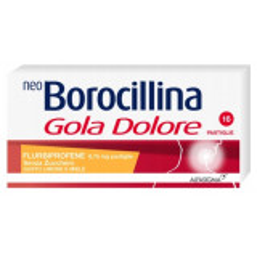 NEOBOROCILLINA GOLADOLORE 16 PASTIGLIE LIMONE E MIELE