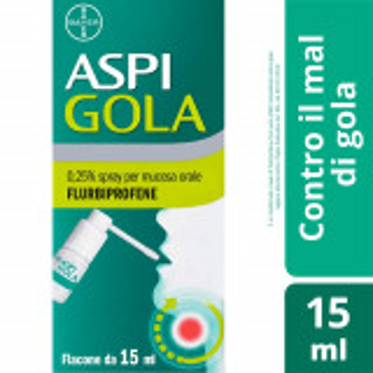 ASPI GOLA SPRAY OROFARINGEO 15 ML