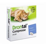 DRONTAL COMPRESSE PER GATTO 2CPR