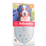 ADVANTIX Spot-On Cani oltre 40Kg fino a 60Kg 4 pipette