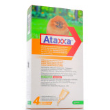 ATAXXA SPOT ON 4PIPETTE 200MG/40MG PER CANI FINO A 4KG