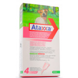 ATAXXA SPOT ON 4PIPETTE 500MG/100MG PER CANI 4-10KG