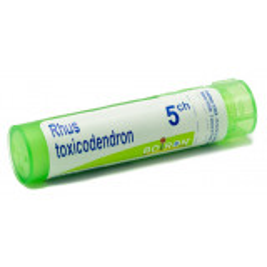 BOIRON RHUS TOXICODENDRON 5CH GRANULI 4G