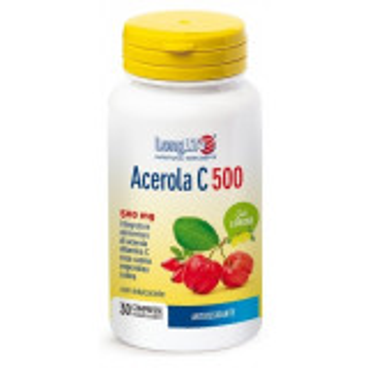 LONGLIFE ACEROLA C 500 30CPR