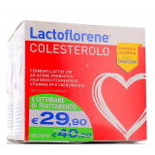 LACTOFLORENE COLESTEROLO BIPACK 20BST+20BST