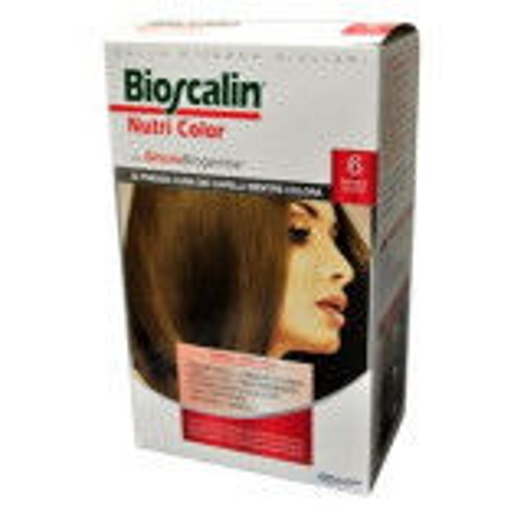 BIOSCALIN NUTRI COLOR Trattamento Colorante con SincroBiogenina 6 Biondo Scuro