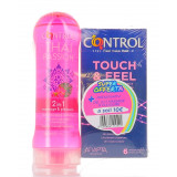 CONTROL KIT TOUCH&FEEL 6PZ + GEL THAI PASSION 200ML