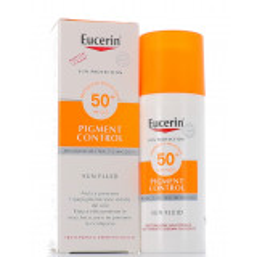 EUCERIN PIGMENT CONTROL SUN FLUID SPF50+ 50ML