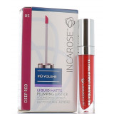 INCAROSE PIU' VOLUME LIQUID MATTE DEEP RED 05 4ML