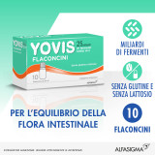YOVIS FLACONCINI 10FL