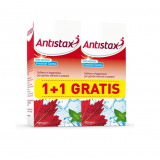 ANTISTAX FRESH GEL GAMBE 125ML+125ML