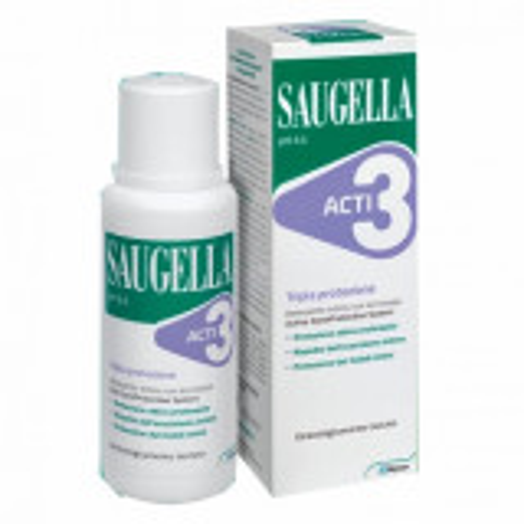 SAUGELLA ACTI3 DETERGENTE INTIMO TRIPLA PROTEZIONE 250ML