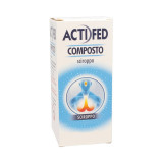 ACTIFED COMPOSTO TOSSE SECCA SCIROPPO 100 ML